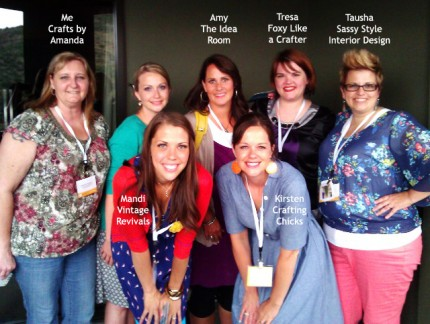 Craft Bloggers at Evo Conference