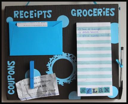 Shopping Organization Board