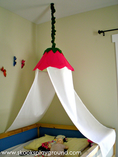 How to Make a Flower Canopy