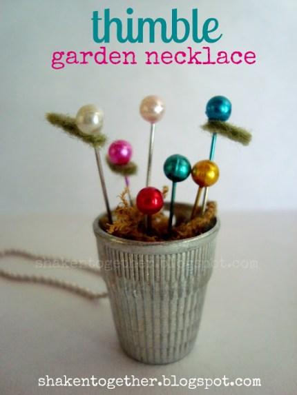 Thimble Garden Necklace