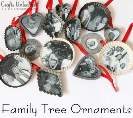 Family Tree Christmas Ornaments