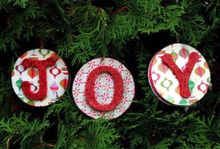 Reversible Christmas Ornaments