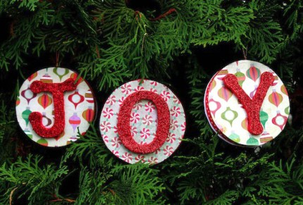 Reversible Christmas Ornaments