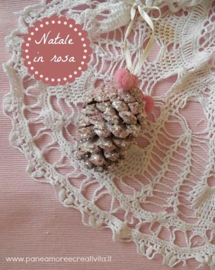 Pretty Pink Pinecone