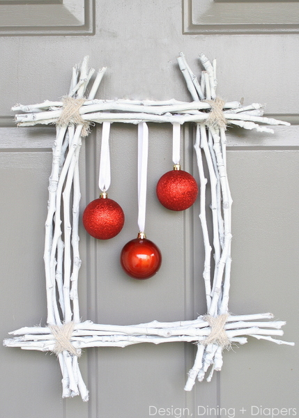 Winter Twig Wreath