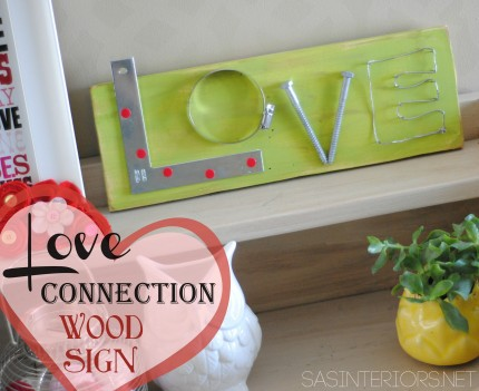 Hardware Love Sign