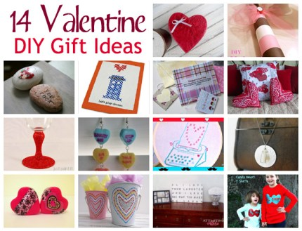 14 DIY Valentine Gift Ideas