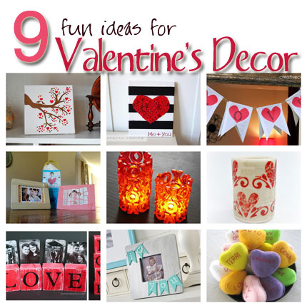 9 Valentine Decor Ideas