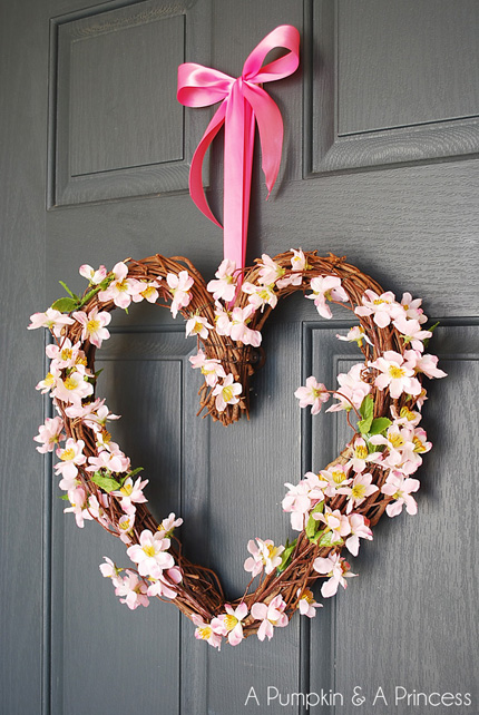 Simple Heart Wreath