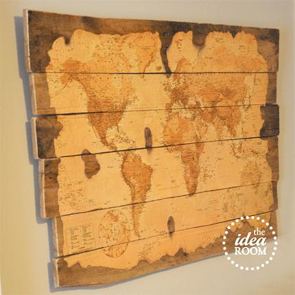 Wood Pallet Map