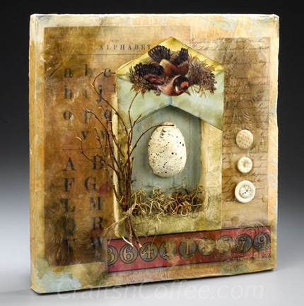 Mixed Media Spring Shrine
