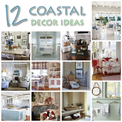 12 Coastal Decorating Ideas – Home and Garden