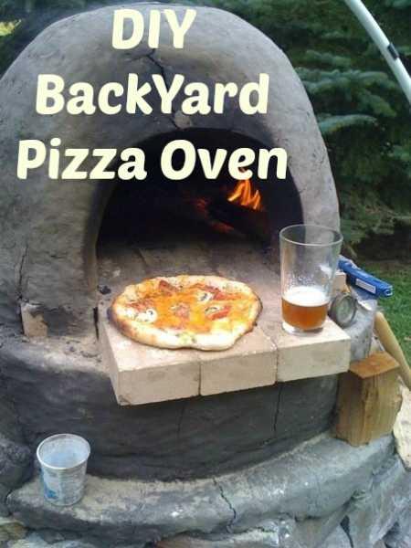 DIY Backyard Pizza Oven - Home and Garden