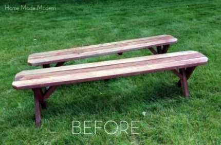 picnic table_before