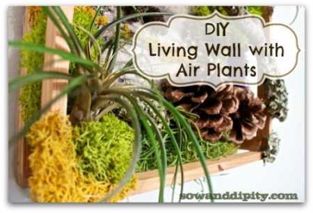 DIY Living Wall Art