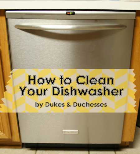 How to really clean your dishwasher