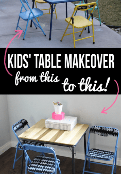 table-makeover