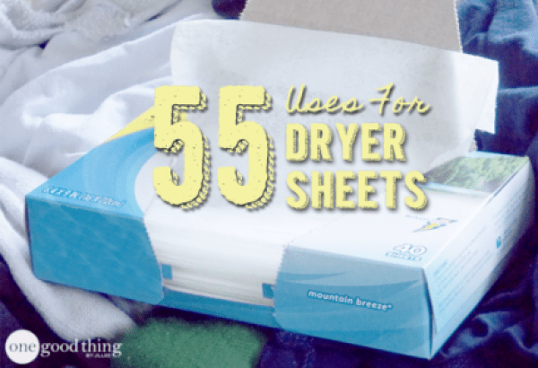 Craft Uses For Dryer Sheets