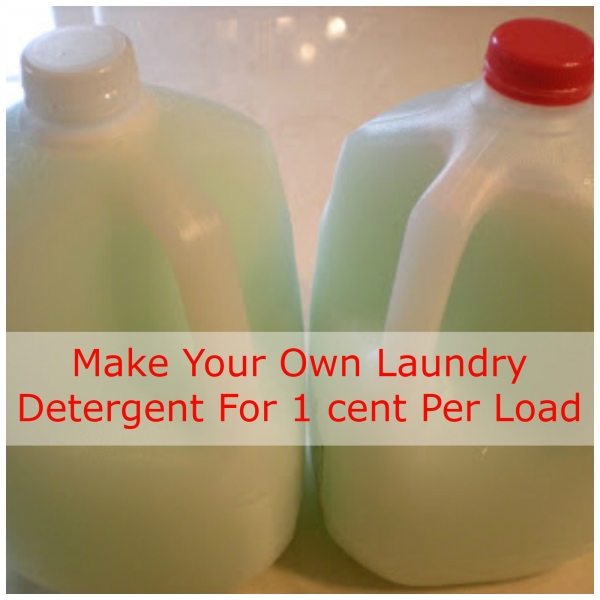 Save Big By Making Your Own Laundry Detergent Home And