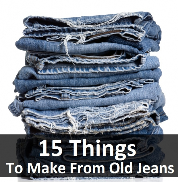 What are you making with your old jeans?