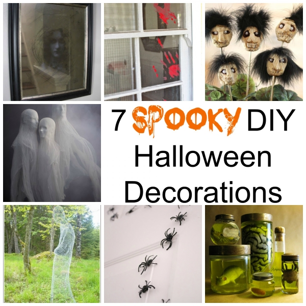 7 spooky diy halloween decorations home and garden for Home and garden halloween decorations