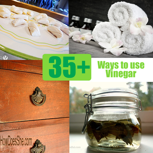 Different Ways You Could Be Using Vinegar In Your Home