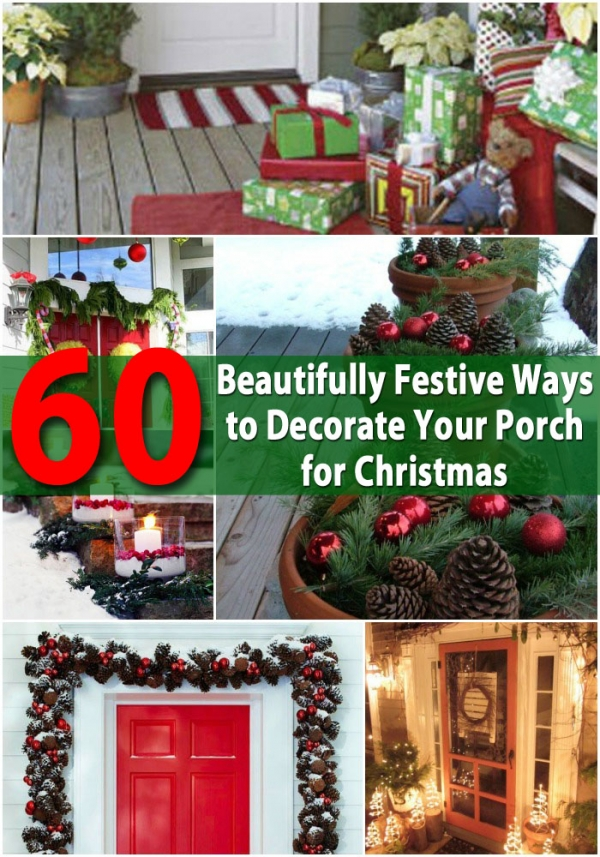 Holiday Front Porch Decorating Home And Garden