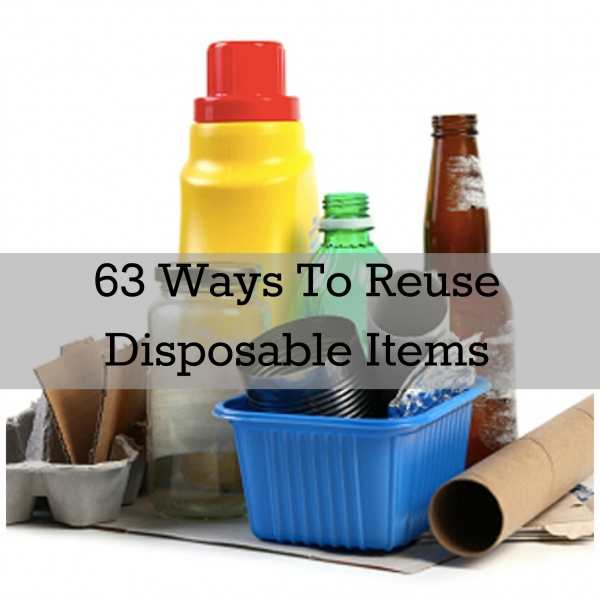 Reusing Disposable Items