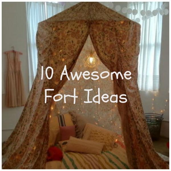 Kids Indoor Fort Ideas