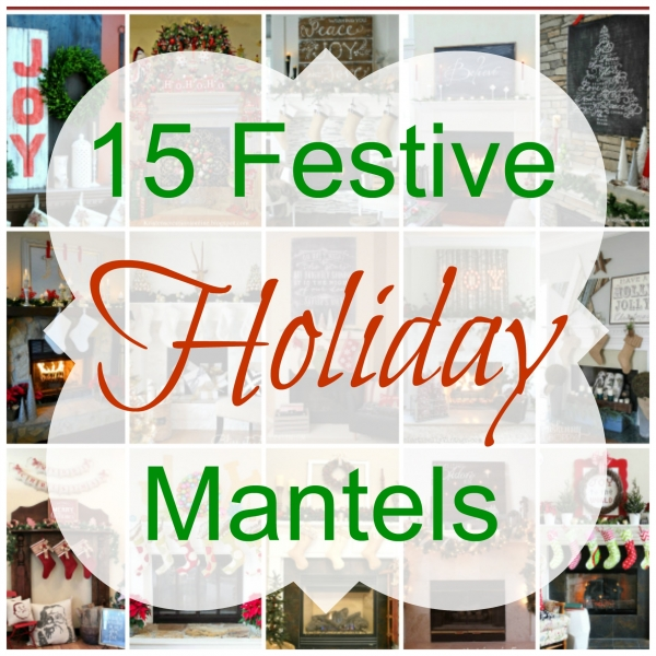 Beautiful Holiday Mantels - Home and Garden