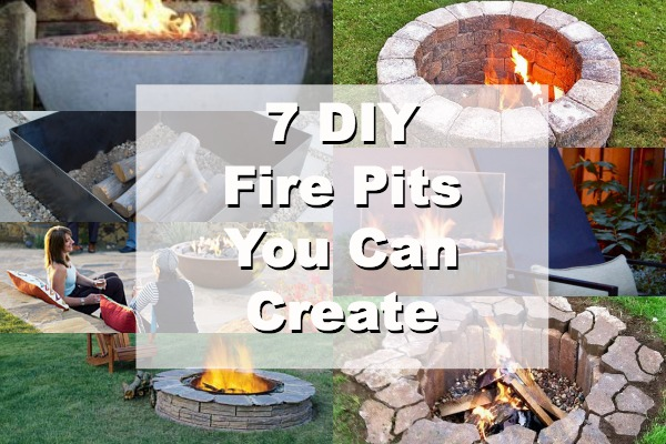 Make Your Own Outdoor Fire Pit Home And Garden