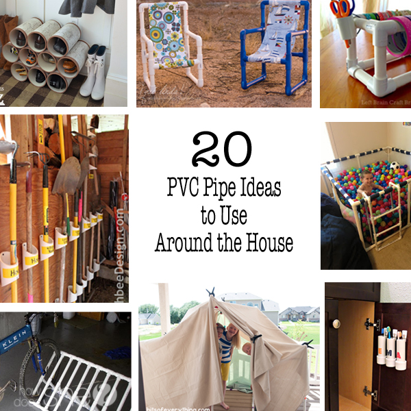 Ideas To Use PVC Pipes