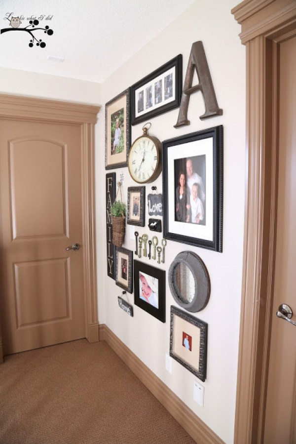 8 Ideas For Photo Collage Gallery Walls - Home and Garden