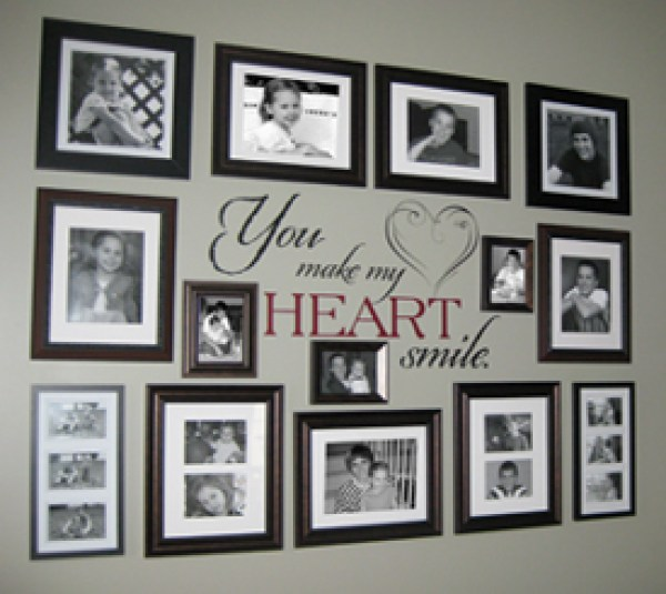 8 ideas for photo collage gallery walls home and garden smile solutioingenieria Image collections