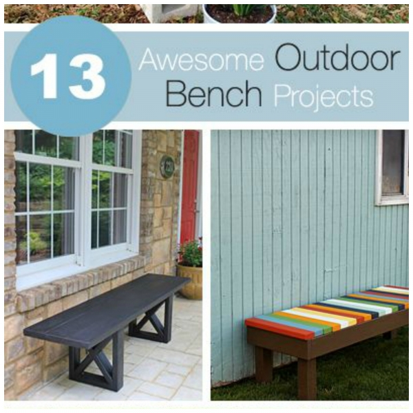 13 outdoor bench ideas you can make yourself home and garden bench solutioingenieria Image collections