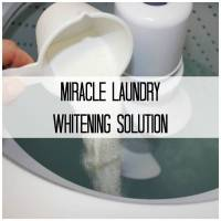 The Secret To Getting Whiter Whites In Your Laundry