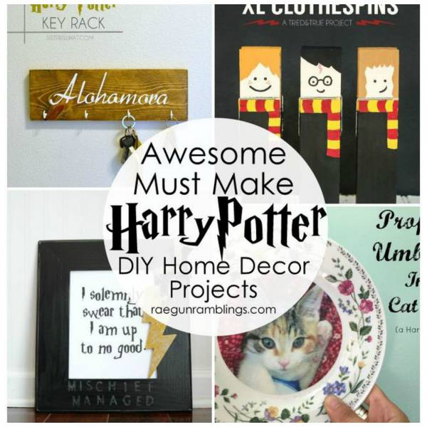 34 Fantastic Diy Home Decor Ideas With Rope: Over 50 DIY Ideas For The Die-Hard Harry Potter Fan