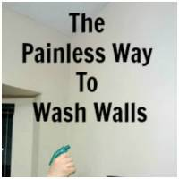 Tips to Make Washing Walls a Little Bit Easier