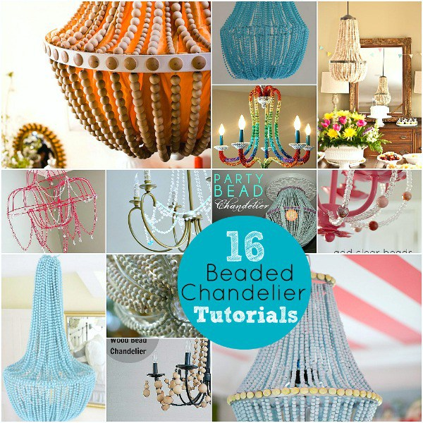 Diy chandelier projects you will love home and garden for Chandelier craft ideas