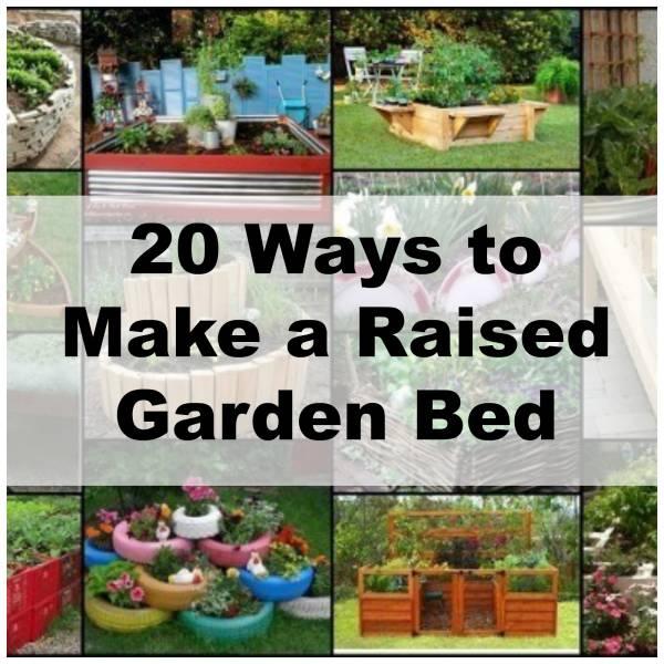 Unique ideas to make a raised garden bed home and garden for Unusual raised garden bed designs