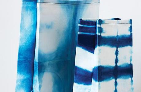 DIY Shibori Lunch Bags