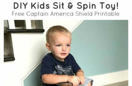 DIY Kids Spinner Toy
