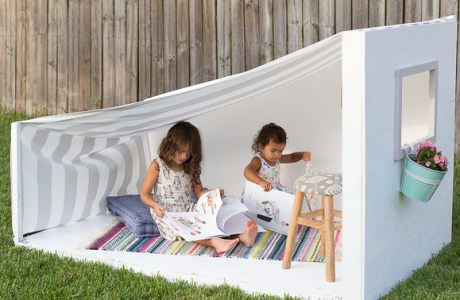 DIY Kids Outdoor Play House