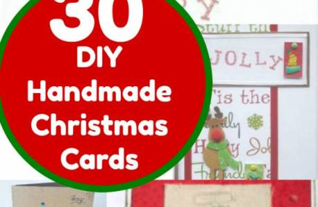 30 Christmas Cards You Can Make Yourself