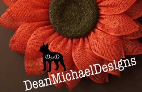 Daisy Petal Wreath Tutorial by DeanMichaelDesigns