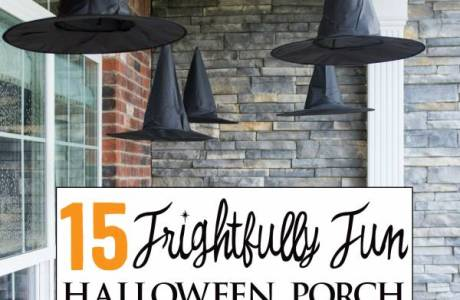 15 Halloween Craft Ideas For Your Front Porch