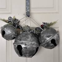DIY Giant Christmas Bells - Bowl Hack