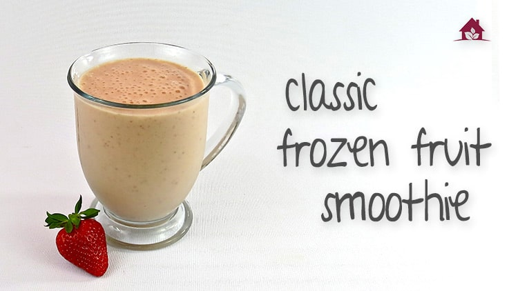 Classic frozen smoothie