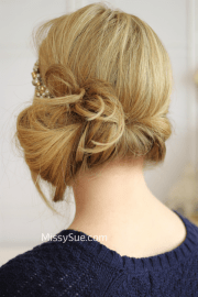 """""""great gatsby"""" tuck and cover hair"""