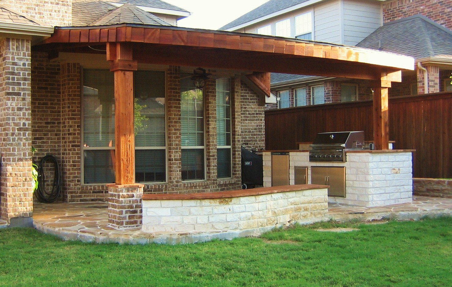 Outdoor Living Spaces Covered Patio